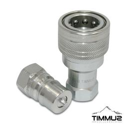 1/2″ NPT ISO 7241-B Quick Disconnect Hydraulic Coupler Set