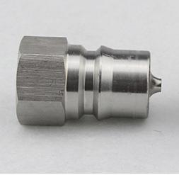 """1/2"""" NPT ISO 7241-B Quick Disconnect Hydraulic Coupling / Co"""