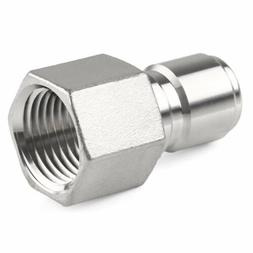 "1/2"" NPT Stainless Steel Male Quick Disconnect Homebrew Fitt"