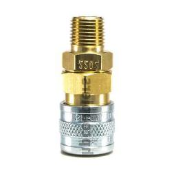 1 8 quick disconnect socket mpt brass