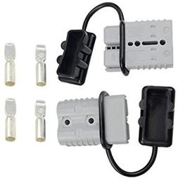 WGCD 175A Battery Quick Disconnect Connector Plug Kit Traile