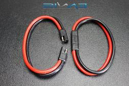 8 GAUGE QUICK DISCONNECT 2 PIN 10'' LEADS POLARIZED WIRE H