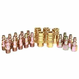 20 PC Air Snap Coupler Quick Fittings for Air Hose Connector