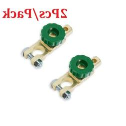 2Pcs Battery Terminal Switch Quick Cut-off Disconnect Master