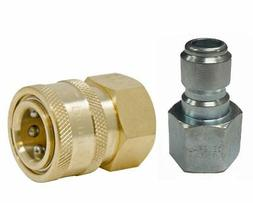 """General Pump 3/8"""" Quick Disconnect Coupler Fittings for Pres"""