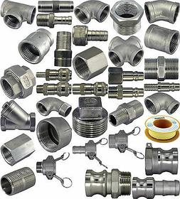 304 Stainless Steel Pipe Fittings Corrosion Resistant Chemic