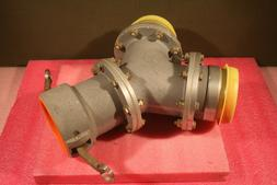 """OPW 4"""" Y Quick Disconnect KAMLOK;  Hose Fittings: 2 Male,"""