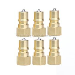 6 Male Quick Disconnect Couplers for Carpet Cleaning Wands