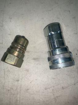Dixon 8kf8 Quick Connect Coupling Hydraulic Fitting Disconne