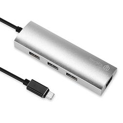 Anker USB C Hub, 4-in-1 Aluminum USB C Adapter with Ethernet