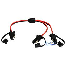 Car Quick Disconnect Connect 12 Gauge 2 Pin SAE Waterproof P