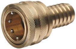 Dixon 8ES8-B Brass Quick-Connect Hydraulic Fitting, Coupler,