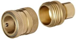 Dixon DGH7 Brass Quick-Connect Fitting, Garden Hose Complete