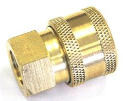 "Pressure Washer 1/4"" Quick Coupler Disconnect Socket  1/4"" F"