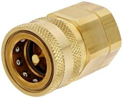 Snap-Tite BVHC12-12F Brass H-Shape Quick-Disconnect Hose Cou