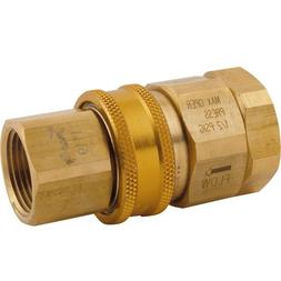 T&S Brass AG-5E Gas Appliance Connectors, Quick Disconnect,