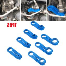AC/Fuel Line Angled Disconnect Tool Set 7 Sizes For Ford Chr