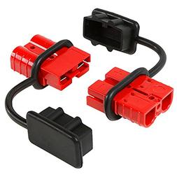 Battery Quick Connect Disconnect Electrical Plug 6-10 Gauge