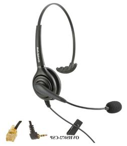 Cisco IP Phones Compatible Call Center Headset with Noise Ca