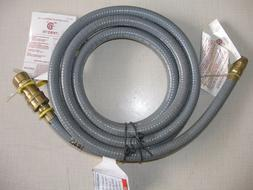 "Gas Grill Natural Gas 3/8"" Quick Disconnect Hose Kit 10 Feet"