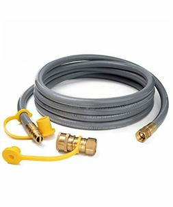 Gas Natural Hose Propane Quick 8 Gaspro 3 12ft Connect Inch