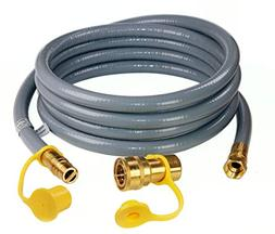 DOZYANT 12 Feet 1/2-inch ID Natural Gas Grill Hose with Quic