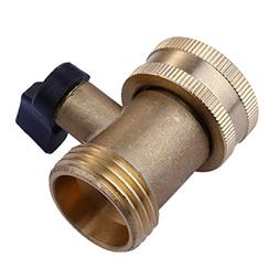 Fangfang Heavy Duty 3/4 03V Brass Garden Hose Connector with