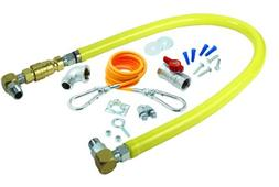 T&S Brass HG-4D-48SK Gas Hose with  Quick Disconnect