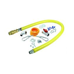 T&S Brass HG-4D-60K Gas Hose with Quick Disconnect, 3/4-Inch