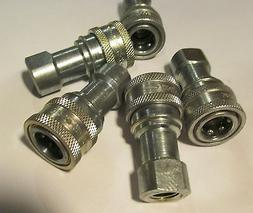 5 NEW EATON-HANSEN 2-HK QUICK DISCONNECT HYDRAULIC FITTINGS