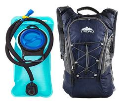 Drift Hydration Backpack with 2 Liter Water Bladder Fits Men