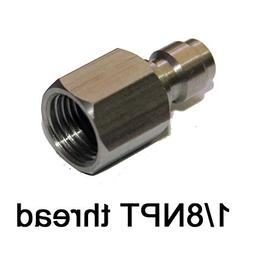"Outdoor Guy Inner Thread 1/8"" NPT Male Quick Disconnect Adap"