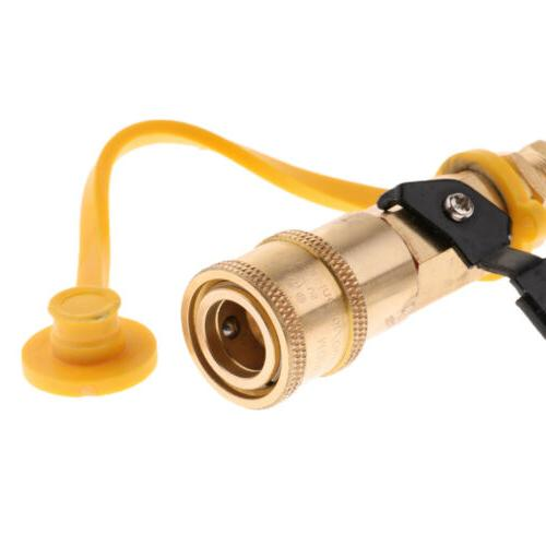 1/4'' Gas Quick Adapter Fittings Hose
