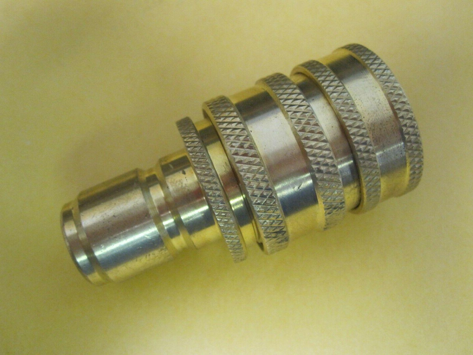 """11/16"""" to 11/16"""" Brass Fitting"""