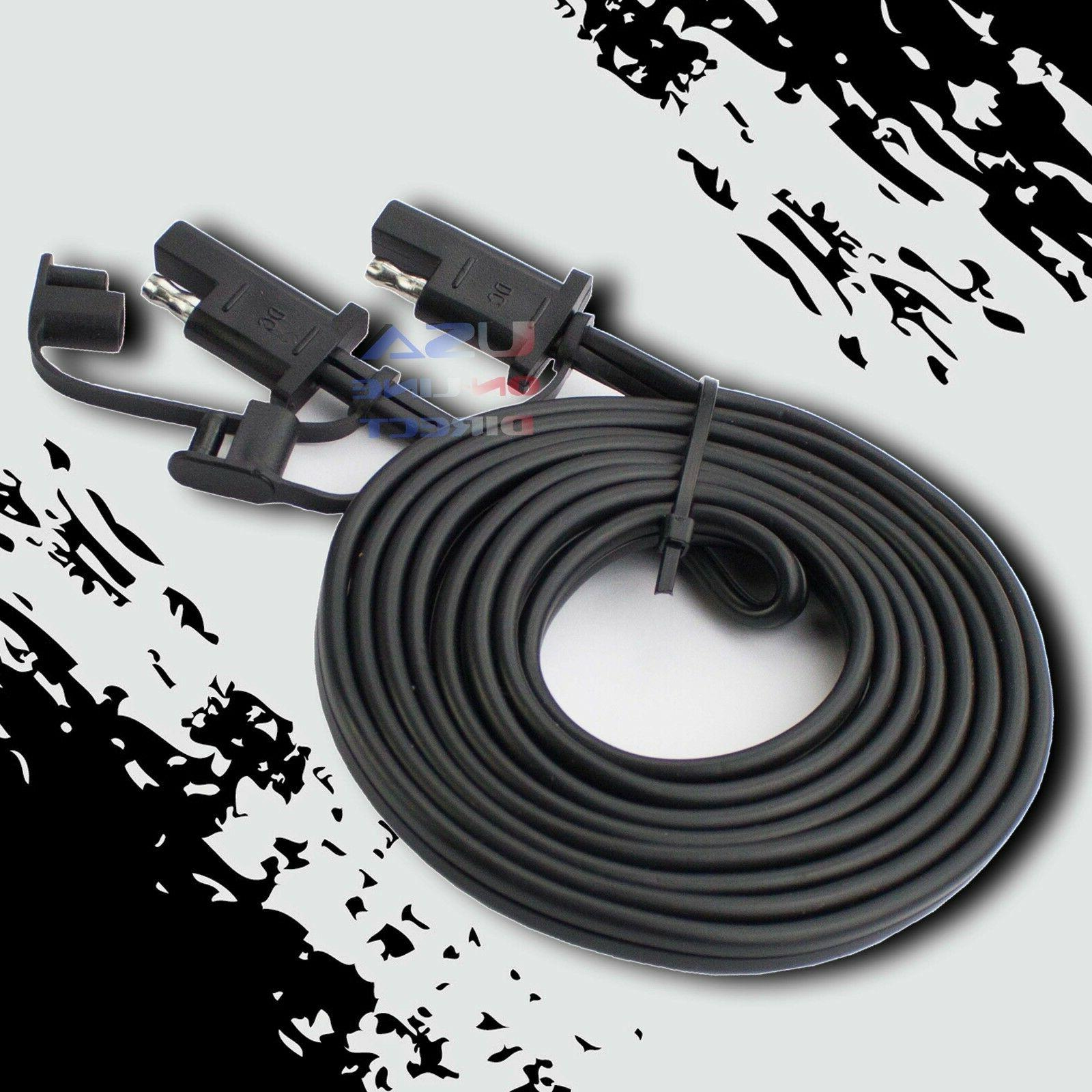 25ft. Battery Quick Disconnect Connect 2-Pin SAE Waterproof
