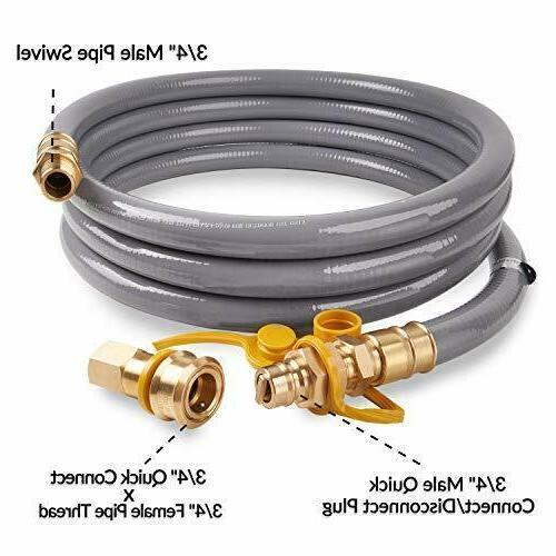 """15 3/4"""" Natural Gas Quick Connect/Disconnect"""