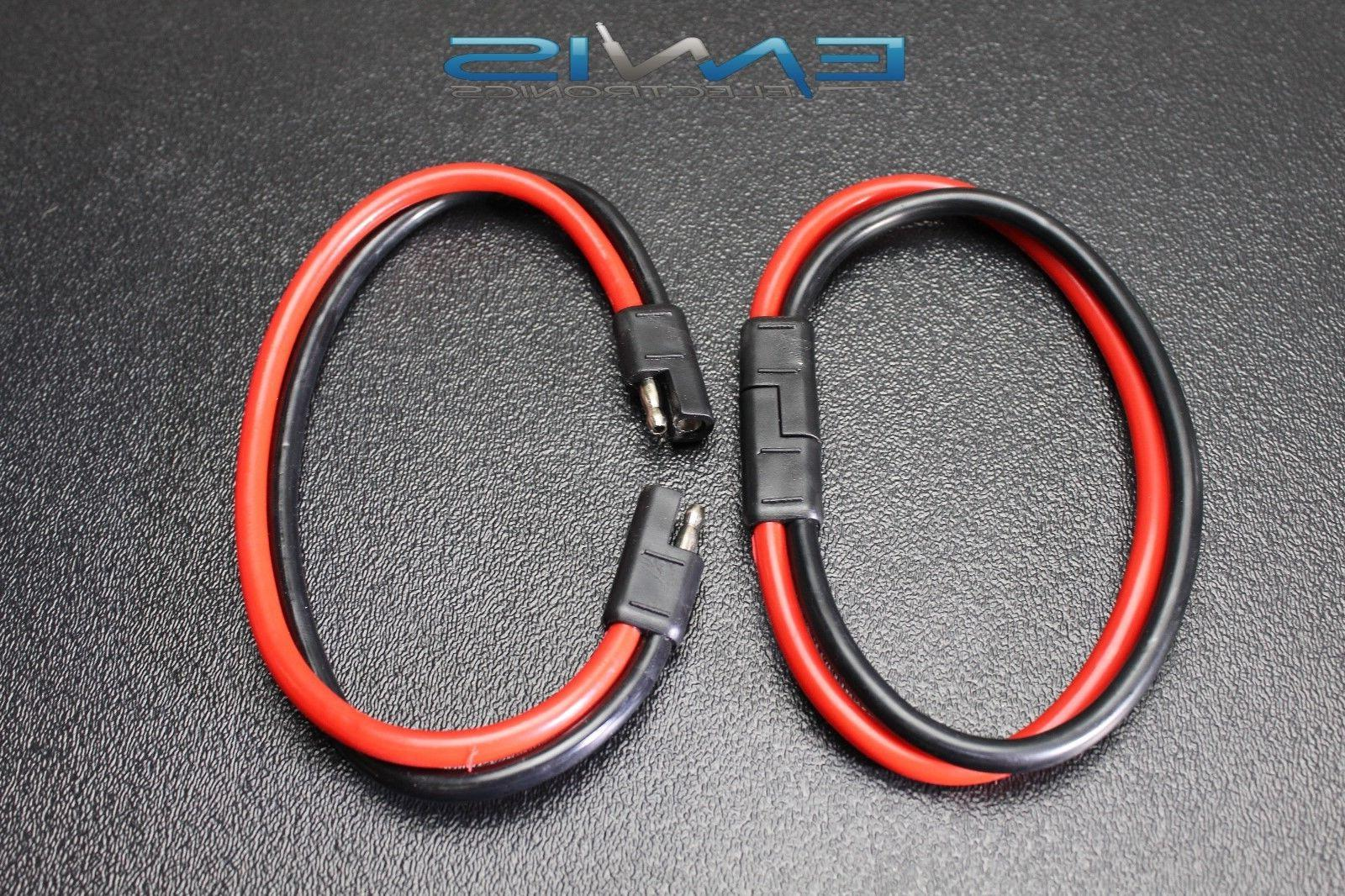 GAUGE DISCONNECT 2 LEADS WIRE HARNESS AQK-12-8BG