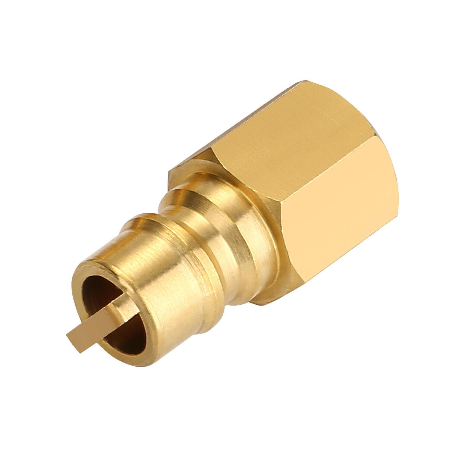 3/8 Inch Gas Propane Hose Natural Quick Fittings, Disconnect Kit