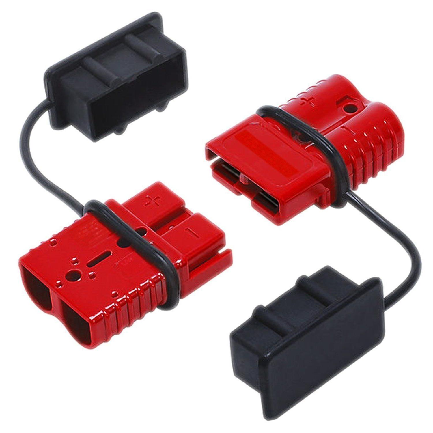 50a battery trailer pair plug quick connector