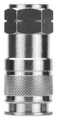 ALPHA FITTINGS 80195-08 Quick Disconnect Fitting,Barb,3/8,Br