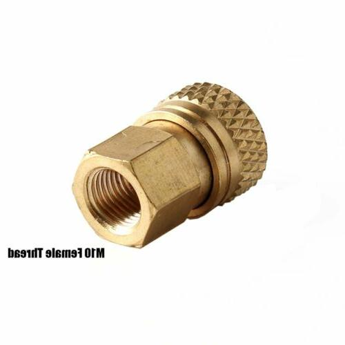 8MM Quick-Disconnect Male Adapter to M10x1 Thread Female Cop