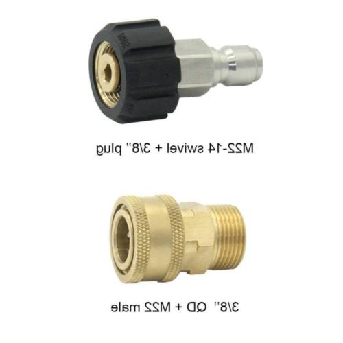 Pressure Washer Set Quick Disconnect Swivel