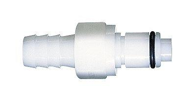 CPC  PLCD22006 Quick-Disconnect Hose Barb Insert; Valved, 3/