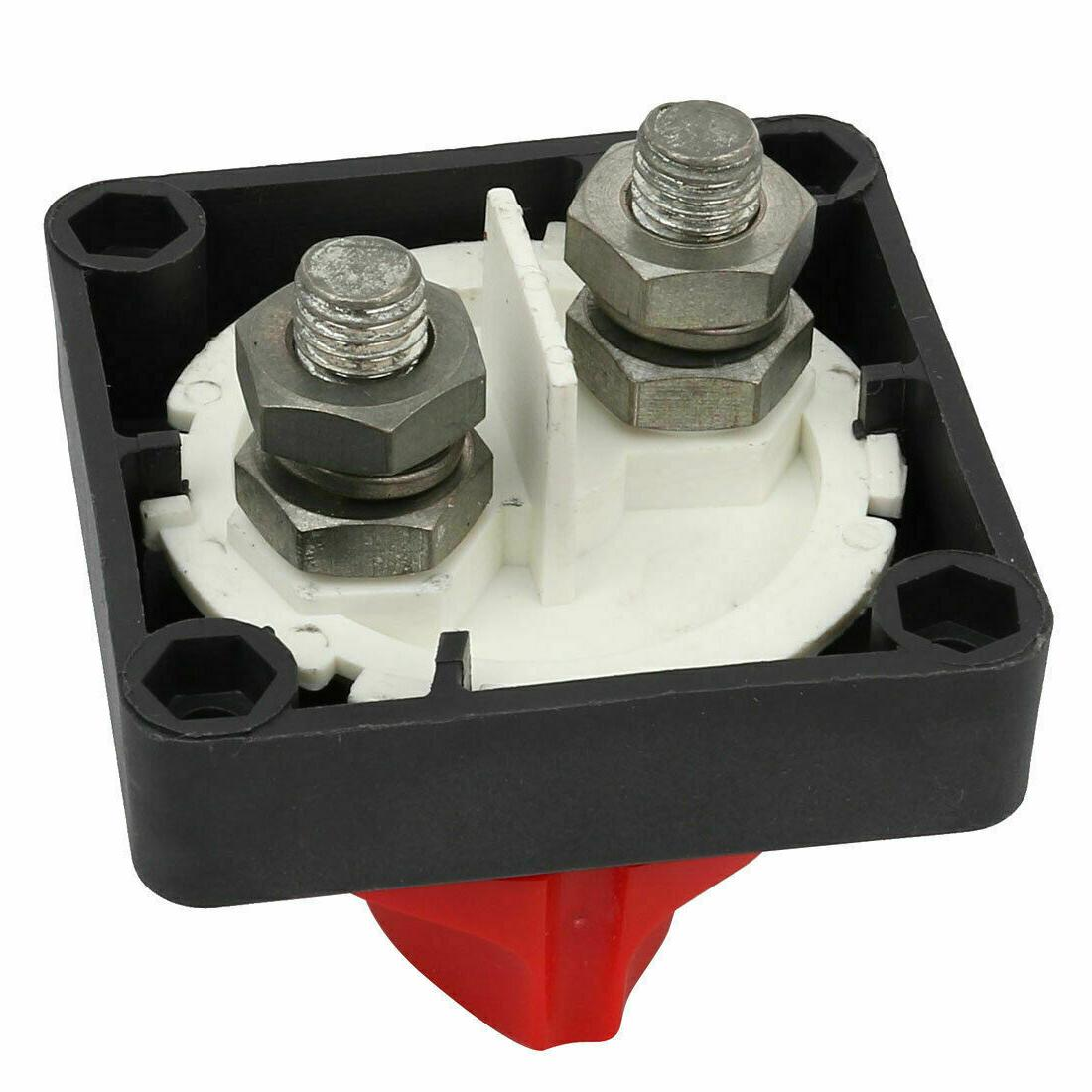 Battery Disconnect Switch Cut-Off Isolator Battery Caravan