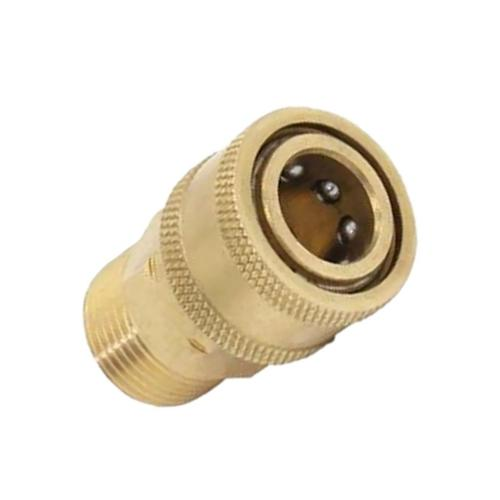TUHUT Brass Pressure Washer Quick Connect M22 to 1/4 Male Co