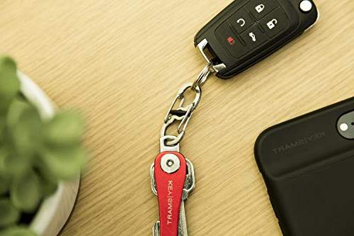 KeySmart Holder Add-on Accessory - S-Biner Stainless Quick Clip