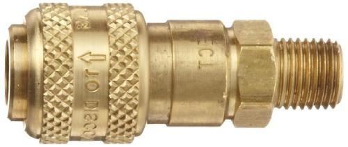 "Dixon Chief Air 1/4"" Coupling 1/4"" Male"