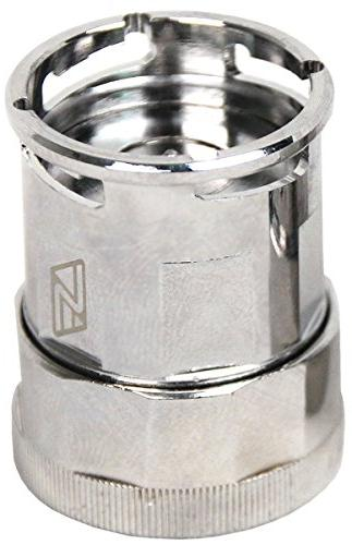 Swiftech Lok-Seal Disconnect Non-Spill Couplings, Chrome