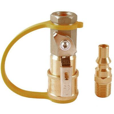 Natural Quick Adapter Fittings Hose Quick Brass
