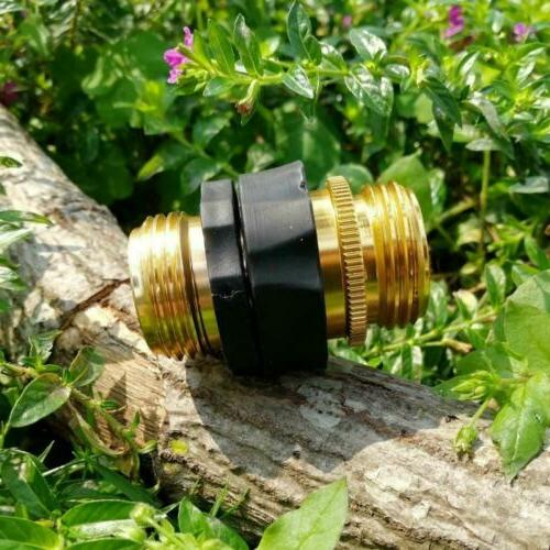 No-Leaks Pressure Garden Hose Quick 6 Male Connects 2...
